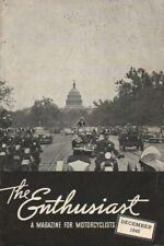 1945 December - The Enthusiast - Vintage Harley-Davidson Motorcycle Magazine