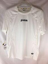 Joma Mens White Black Small S Soccer Athletic Shirt
