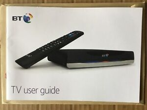 Instruction Book For BT Humax YouView T4000 And T21xx