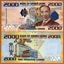 Sierra Leone, 2000 (2,000) Leones, 2010, P-31, UNC