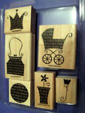"""STAMPIN' UP """"OH, MY WORD"""" - 6 PCS - RETIRED"""