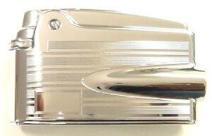 Ronson Premier Varaflame Lighter Chrome/Monogram (RTL20003A)