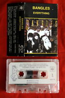 BANGLES EVERYTHING 1989 RARE EXYU CASSETTE TAPE