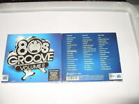 80s Groove  2   3 cd 2011 Digipak Old  Skool  80s Eighties New & Sealed