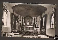 BUZANCAIS (36) LA CHAPELLE de BEAUVAIS , interieur 1950