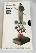 How to Teach Study Skills to Students Vhs Tape Ascd Classroom Teacher Resourse