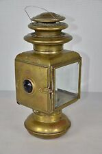 Solar No 933C Brass Oil Side Lamps Model T Ford Stoddard Dayton Stutz