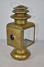 SOLAR NO 933C BRASS  OIL SIDE LAMPS MODEL T FORD STODDARD DAYTON STUTZ
