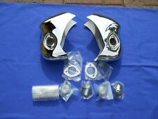 '56 Chevy Nomad/Wagon Rear Bumper Guards w/ Lights/Bezels *New on the Market!