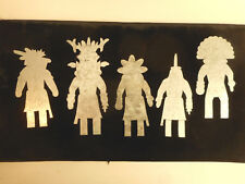 Vintage Hopi Indian Kachina Doll Templates Art Supply Native American Arizona