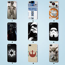 STAR WARS Case iPhone 8 7 6 6S Plus 5S 5C 4S Galaxy S3 4 5 6 7 8 Edge Plus Note