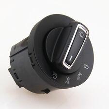 Original Chrome Auto Headlight Fog Light Switch Knob For VW Golf MK7 5GG941431D