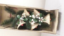"""Vintage 27"""" Bell, Holly & Berries Christmas Decor"""
