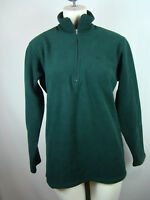 Patagonia Women's Pullover Green Sweater Zip Fleece Size Small S