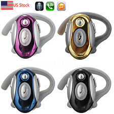 Wireless Universal Bluetooth Headset Headphone for Cell Phone Samsung iPhone HTC