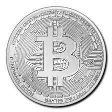 TCHAD 5000 Francs Argent 1 Once Crypto Série - Bitcoin 2020