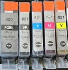 Any 5 color Canon PGI-820 Black CLI-821 B/C/M/Y Ink Cartridge 5 color set