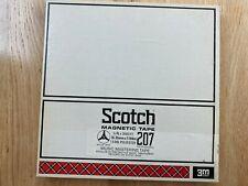 "Scotch 207 10.5"" x .25"" reel to reel audio tape"