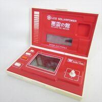 BANDAI AKURYO NO YAKATA Hand Held Game Game & Warch LCD Solarpower JAPAN 1354