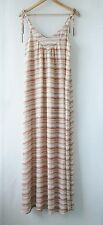 Womens Pink Stitch sz 10 Cool Summer Maxi Dress