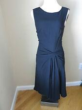PRADA Blue Dress  w/side cinched detail size 40 US 4