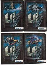 Chile 2014 Ansaldo Hasbro Transformers Sticker Pack 4 different