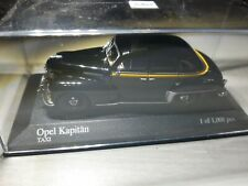 Minichamps Opel Kapitän limitiert 1951 Taxi in 1:43 in OVP (078)