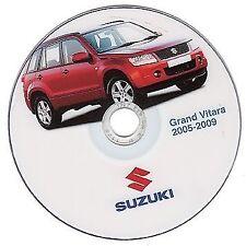 Suzuki Grand Vitara 2005-2009 manuale officina workshop manual