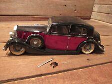 Vintage Custom ROLLS ROYCE Large Car Built Plastic Model Kit - JUNKYARD PARTS