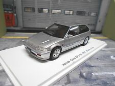HONDA Civic EF3 Si 1987 silver silber Spark Resin Highenddetail 1:43