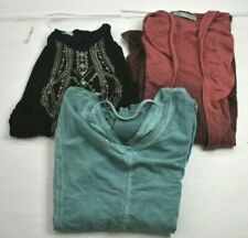 Wholesale Lot of 3 Women's Medium Maurices Casual Everyday Tops Blouses Shirts