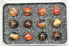 """Jabo """"Fall Harvest"""" Box of Marbles"""