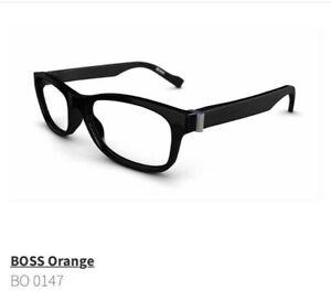 Hugo Boss glasses frames, black, BO 0147