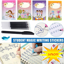 Magic Calligraphy Can Be Reused Handwriting Copybook Set For Kids Writing Tool