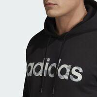 Adidas CAMO LINEAR Hoodie Men's Zip Pockets 3 Stripes Originals XXL Streetwear
