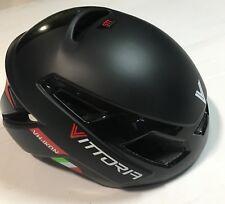 Casco bici corsa Vittoria VH Ikon Nero Black road bike helmet L-XL 58-62 cm