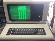 IBM 5251 Display Station Terminal and beam spring  keyboard very antique