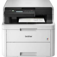 Brother - HL-L3290CDW Wireless Color All-In-One Laser Printer - White