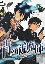 Blue Exorcist Complete Anime Series English Dubbed 25 Episodes + Movie DVD
