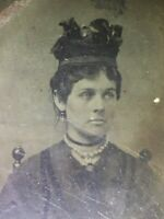 Rare Antique Tintype Of Catherine Devine McCarty Antrim Mother Of Billy The Kid