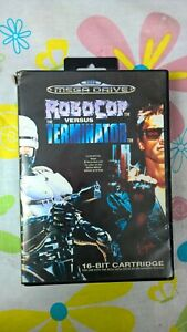 Robocop vs Versus The Terminator, Sega Megadrive, PAL, Complete, VGC