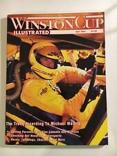WINSTON CUP ILLUSTRATED PAPERBACK MAGAZINE - JULY 1993 MICHAEL WALTRIP COVER