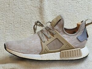 Adidas NMD_XR1 Primeknit Boost mens trainers Brown/White UK 9 EUR 43.5 US 9.5