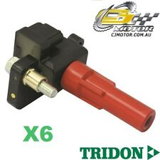 TRIDON IGNITION COIL x6 FOR Subaru Outback H6 10/00-08/03, 6, 3.0L EZ30D