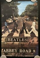 Vintage 1990 Beatles Abbey Road Poster by Apple Corps Limited