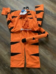 Kellogg's Frosted Flakes Tony The Tiger Adult Unisex Halloween Costume Euc