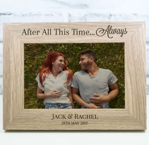 Personalised Harry Potter Photo Frame Wooden Frame Wedding Anniversary Gift