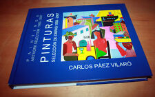 SIGNED CARLOS PAEZ VILARO PAINTINGS ARTWORK SELECTION  DRAWING 1950-2007 URUGUAY