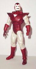 marvel universe IRON MAN silver centurion white comic pack complete legends