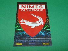 N°407 BADGE NIMES OLYMPIQUE D2 PANINI FOOTBALL FOOT 2001 2000-2001